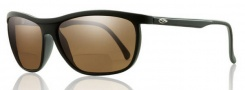 Smith Optics Lochsa Sunglasses Sunglasses - Black / +2.50 Polarized Brown