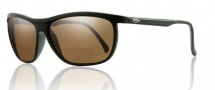 Smith Optics Lochsa Sunglasses Sunglasses - Black +2.00 Polarized Brown