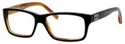 Tommy Hilfiger T_hilfiger 1045 Eyeglasses Eyeglasses - Black White Horn