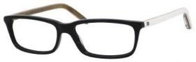 Tommy Hilfiger T_hilfiger 1047 Eyeglasses Eyeglasses - Black / White Dark Gray