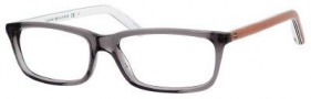 Tommy Hilfiger T_hilfiger 1047 Eyeglasses Eyeglasses - Gray / Caramel White