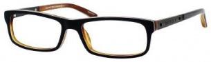 Tommy Hilfiger T_hilfiger 1050 Eyeglasses Eyeglasses - Black White Horn