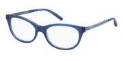 Tommy Hilfiger T_hilfiger 1137 Eyeglasses Eyeglasses - Blue / Blue White Red