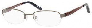 Tommy Hilfiger T_hilfiger 1164 Eyeglasses Eyeglasses - Dark Ruthenium / Red
