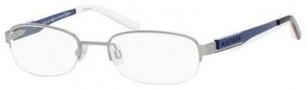 Tommy Hilfiger T_hilfiger 1164 Eyeglasses Eyeglasses - Silver / Blue