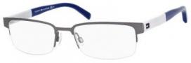 Tommy Hilfiger T_hilfiger 1196 Eyeglasses Eyeglasses - Dark Ruthenium