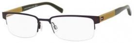 Tommy Hilfiger T_hilfiger 1196 Eyeglasses Eyeglasses - Semi Matte Brown