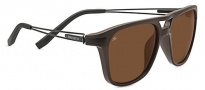 Serengeti Empoli Sunglasses Sunglasses - 7917 Shiny/ Matte Brown Polarized Drivers
