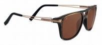 Serengeti Empoli Sunglasses Sunglasses - 7763 Brown Frost Fade / Polarized Drivers
