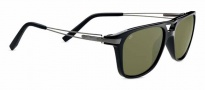 Serengeti Empoli Sunglasses Sunglasses - 7762 Shiny Black / Gunmetal / Polarized 555nm