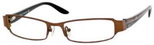 Jimmy Choo 30 Eyeglasses Eyeglasses - Brown / Gold Black