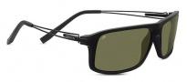 Serengeti Rivoli Sunglasses Sunglasses - 7916 Shiny / Matte Black Polarized 555nm
