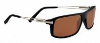Serengeti Rivoli Sunglasses Sunglasses - 7765 Satin Black / Polarized Drivers