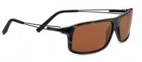 Serengeti Rivoli Sunglasses Sunglasses - 7768 Satin Brown / Black Tortoise / Polarized Drivers