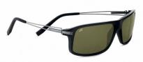 Serengeti Rivoli Sunglasses Sunglasses - 7767 Shiny Black / Polarized 555nm