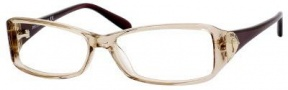 Jimmy Choo 31 Eyeglasses Eyeglasses - Gold Chocolate