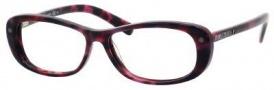 Jimmy Choo 34 Eyeglasses Eyeglasses - Havana Fuchsia