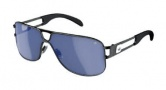 Adidas Conductor Hi Sunglasses Sunglasses - 6052 Black Shiny / Steel Blue Mirror Lens