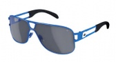 Adidas Conductor Hi Sunglasses Sunglasses - 6054 Blue Shiny / Grey Silver Mirror Lens