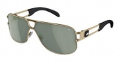Adidas Conductor Hi Sunglasses Sunglasses - 6056 Gold Shiny / Green Polarized Lens
