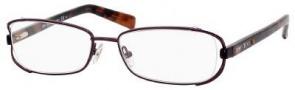Jimmy Choo 36 Eyeglasses Eyeglasses - Brown Havana