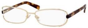 Jimmy Choo 36 Eyeglasses Eyeglasses - Gold Havana
