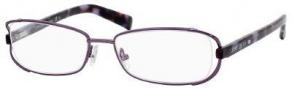 Jimmy Choo 36 Eyeglasses Eyeglasses - Violet Havana Mauve