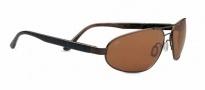 Serengeti Monza Sunglasses Sunglasses - 7794 Satin Dark Brown / Polar PhD Drivers