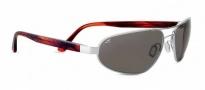 Serengeti Monza Sunglasses Sunglasses - 7791 Shiny Silver / Polar PhD CPG
