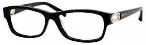 Jimmy Choo 38 Eyeglasses Eyeglasses - Black