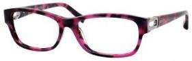 Jimmy Choo 38 Eyeglasses Eyeglasses - Havana Fuchsia
