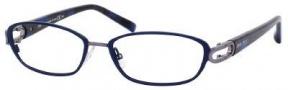 Jimmy Choo 40 Eyeglasses Eyeglasses - Blue Havana Ruthenium