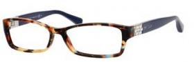 Jimmy Choo 41 Eyeglasses Eyeglasses - 09DT Spotted Havana Blue