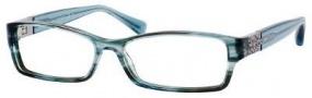 Jimmy Choo 41 Eyeglasses Eyeglasses - Aqua Marble
