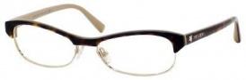 Jimmy Choo 44 Eyeglasses Eyeglasses - Havana Nude