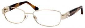 Jimmy Choo 46 Eyeglasses Eyeglasses - Gold / Sand Havana