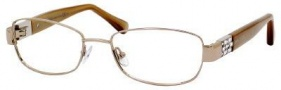 Jimmy Choo 46 Eyeglasses Eyeglasses - Rose / Beige Gold