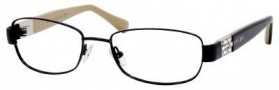 Jimmy Choo 46 Eyeglasses Eyeglasses - Shiny Black / Nude