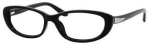 Jimmy Choo 50 Eyeglasses Eyeglasses - Black Glitter