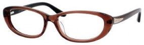 Jimmy Choo 50 Eyeglasses Eyeglasses - Brown Glitter