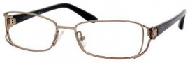 Jimmy Choo 52 Eyeglasses Eyeglasses - Brown Crocodile Gold