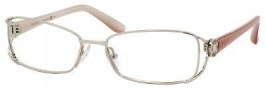 Jimmy Choo 52 Eyeglasses Eyeglasses - Gold Crocodile