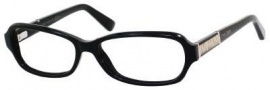 Jimmy Choo 55 Eyeglasses Eyeglasses - Black