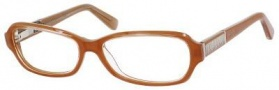 Jimmy Choo 55 Eyeglasses Eyeglasses - Brown Crystal