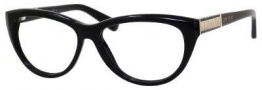 Jimmy Choo 56 Eyeglasses Eyeglasses - Black
