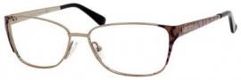 Jimmy Choo 57 Eyeglasses Eyeglasses - Bronze / Nude Zebra
