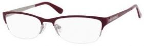 Jimmy Choo 58 Eyeglasses Eyeglasses - Matte Burgundy / Ruthenium