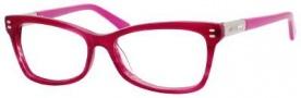 Jimmy Choo 64 Eyeglasses Eyeglasses - Cyclamen / Palladium