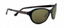 Serengeti Giustina Sunglasses Sunglasses - 7827 Satin Black / Polar PhD 555nm