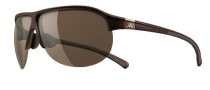 Adidas Tourpro S Sunglasses Sunglasses - 6055 Shiny Brown / LST Contrast Silver